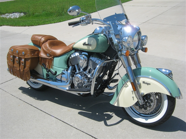 2018 Indian Motorcycle Chief Vintage at Brenny's Motorcycle Clinic, Bettendorf, IA 52722