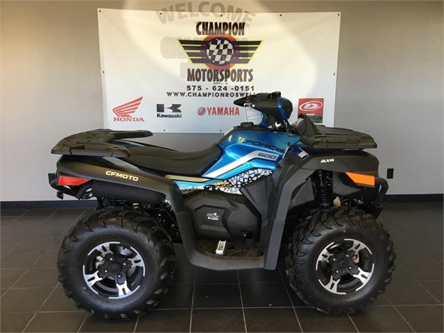 2021 CFMOTO CFORCE 600 at Champion Motorsports