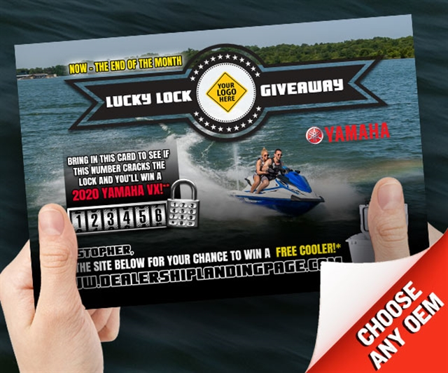 Lucky Lock Giveaway Powersports at PSM Marketing - Peachtree City, GA 30269
