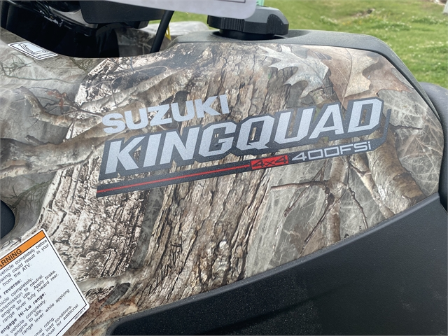 2021 Suzuki KingQuad 400 FSi at Shreveport Cycles