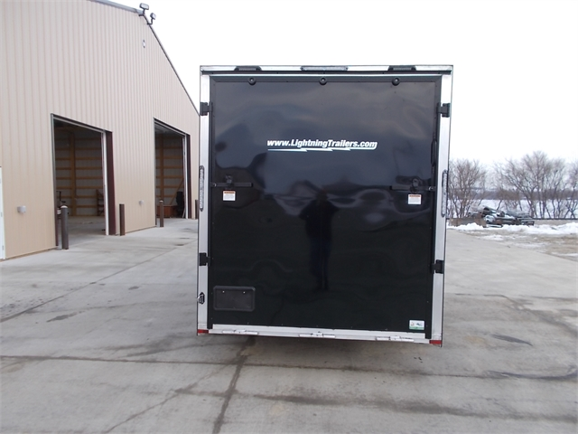 2022 Lightning Trailers 7' Wide Flat Top LTF714TA2 at Nishna Valley Cycle, Atlantic, IA 50022