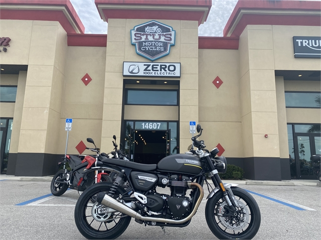 2022 Triumph Speed Twin Base at Fort Myers