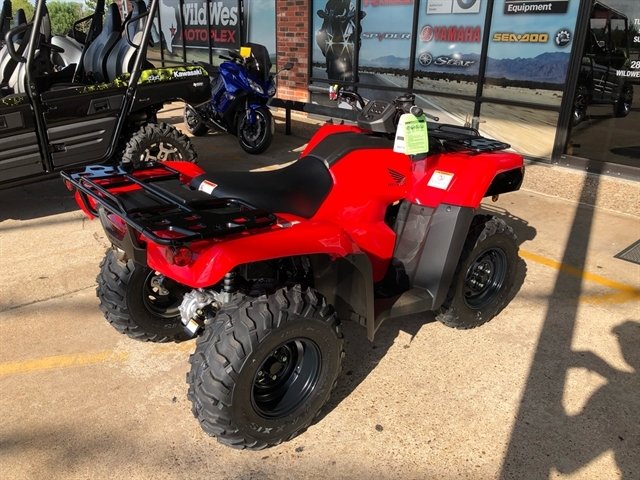 2021 Honda FourTrax Rancher 4X4 Automatic DCT IRS at Wild West Motoplex