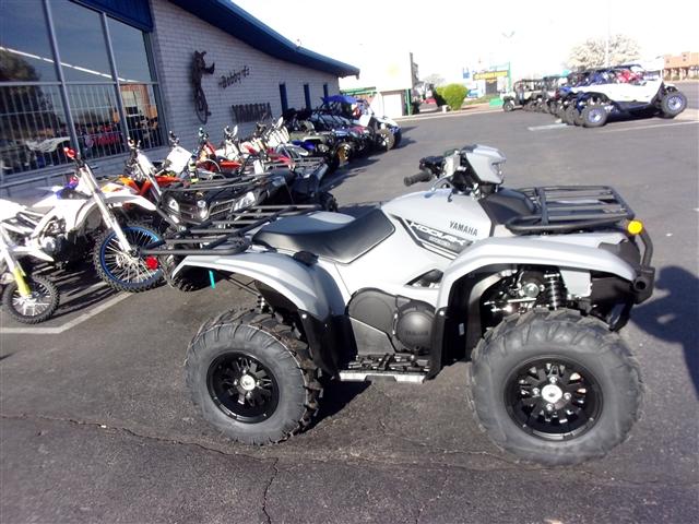 2019 Yamaha Kodiak 700 EPS Gray at Bobby J's Yamaha, Albuquerque, NM 87110