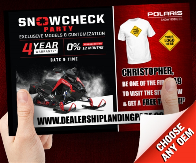 Polaris Snowcheck Party Powersports at PSM Marketing - Peachtree City, GA 30269