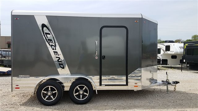 2018 Legend Deluxe V Nose Cargo 7X15DVNSA at Nishna Valley Cycle, Atlantic, IA 50022