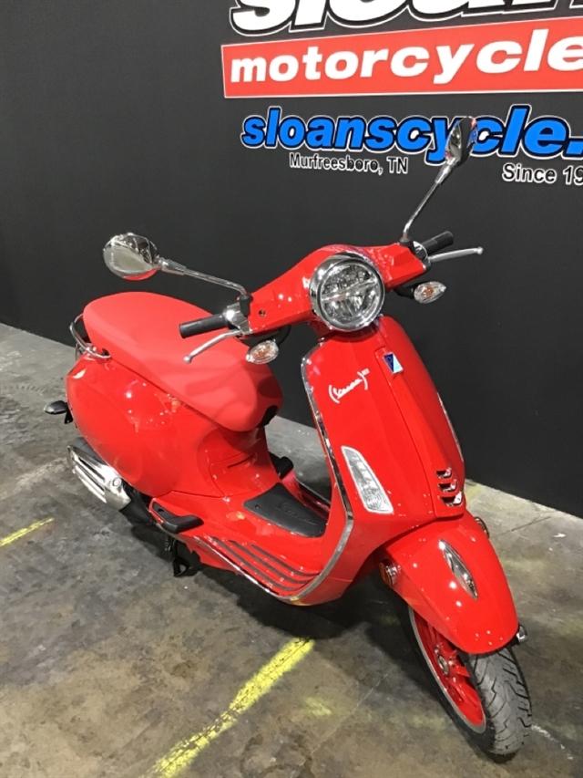2021 Vespa Primavera 150 Red at Sloans Motorcycle ATV, Murfreesboro, TN, 37129