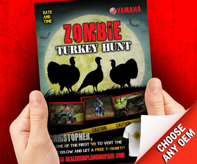2019 Fall Zombie Turkey Hunt Powersports at PSM Marketing - Peachtree City, GA 30269