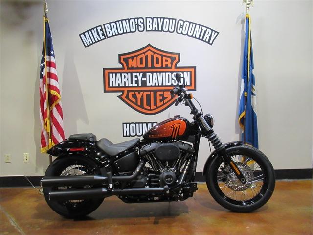 2021 Harley-Davidson Cruiser FXBBS Street Bob 114 at Mike Bruno's Bayou Country Harley-Davidson