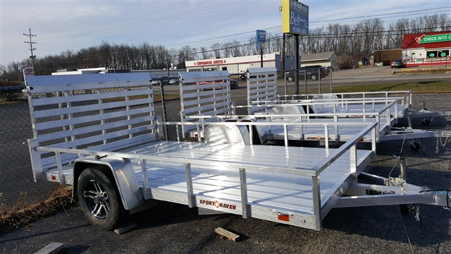 2018 Sport Haven Utility Trailers (AUTD) AUT712D at Thornton's Motorcycle - Versailles, IN