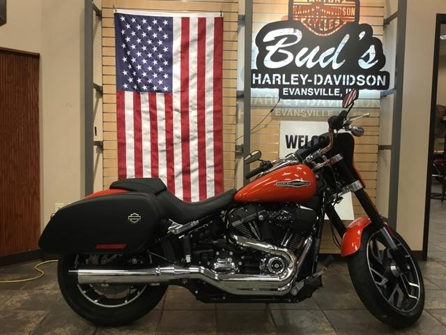 2020 Harley-Davidson Softail Sport Glide at Bud's Harley-Davidson