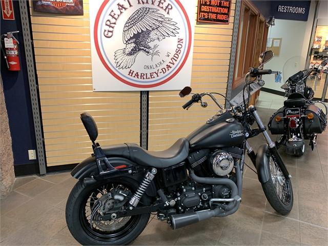 2016 Harley-Davidson Dyna Street Bob at Great River Harley-Davidson