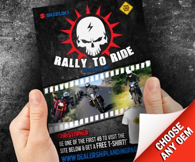 Rally to Ride Powersports at PSM Marketing - Peachtree City, GA 30269