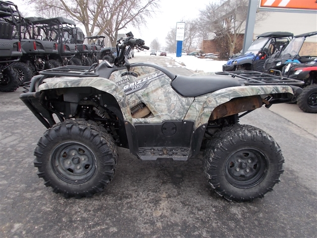 2014 Yamaha Grizzly 700 FI Auto 4x4 EPS at Nishna Valley Cycle, Atlantic, IA 50022