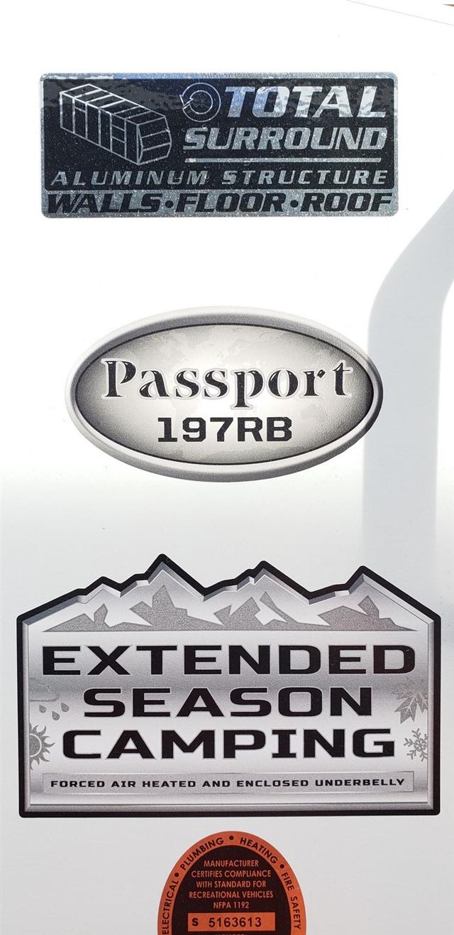 2019 Keystone Passport SL Series 197RB at Nishna Valley Cycle, Atlantic, IA 50022