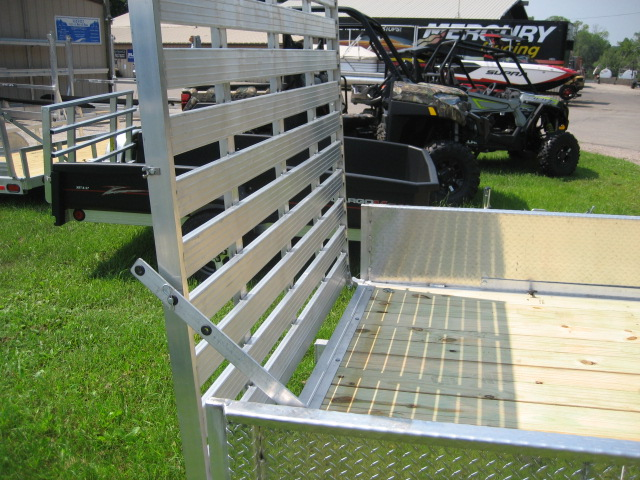 2019 Trophy 6.5' x 12' DP TI w/5' ramp at Fort Fremont Marine, Fremont, WI 54940