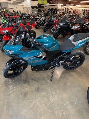 2021 Kawasaki Ninja 400 Pearl Nightshade Teal/Metallic Spark Black Base at Powersports St. Augustine