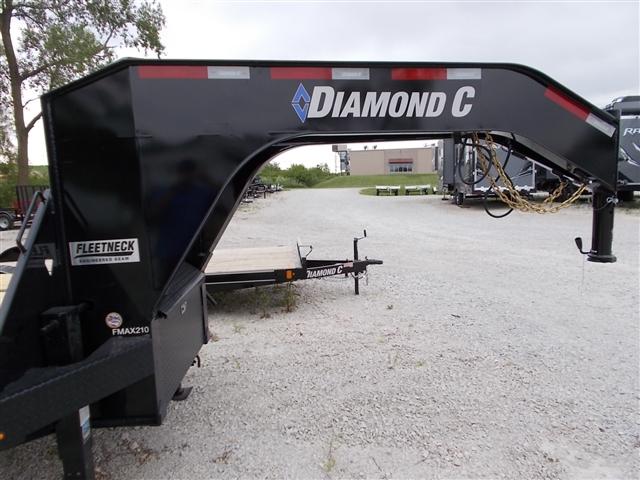 2019 Diamond C Gooseneck FMAX210 at Nishna Valley Cycle, Atlantic, IA 50022