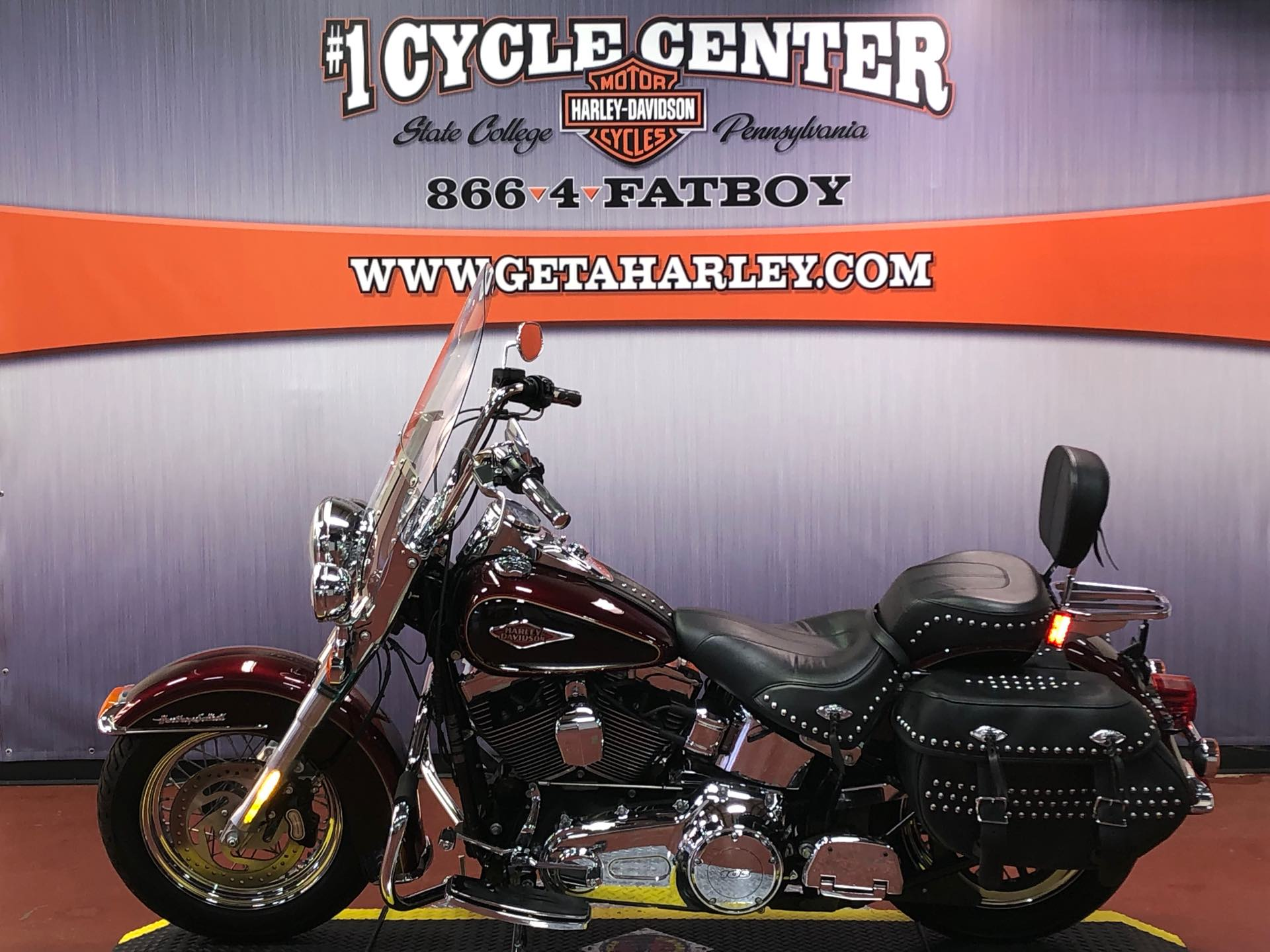 2015 Harley-Davidson Softail Heritage Softail Classic at #1 Cycle Center Harley-Davidson