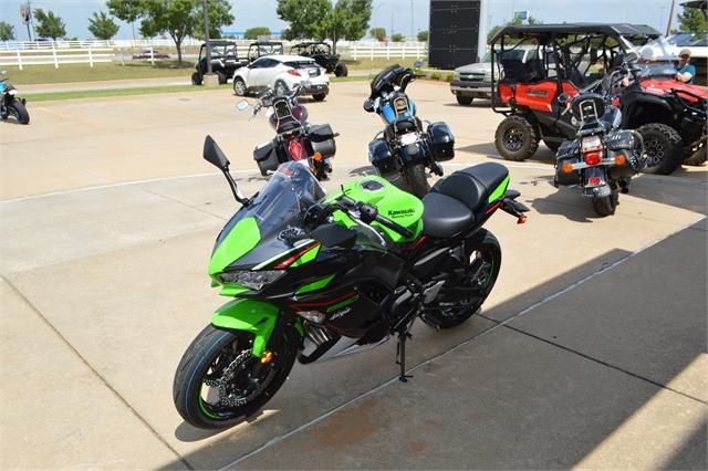 2022 Kawasaki Ninja 650 Base at Shawnee Honda Polaris Kawasaki