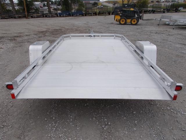 2021 Aluma Single Heavy Axle Utility Trailers 7814STilt at Nishna Valley Cycle, Atlantic, IA 50022