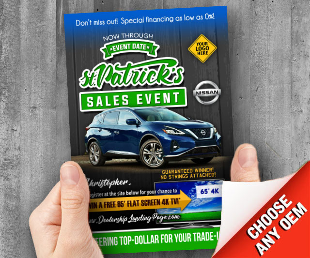 St Patrick's Sales Event Automotive at PSM Marketing - Peachtree City, GA 30269