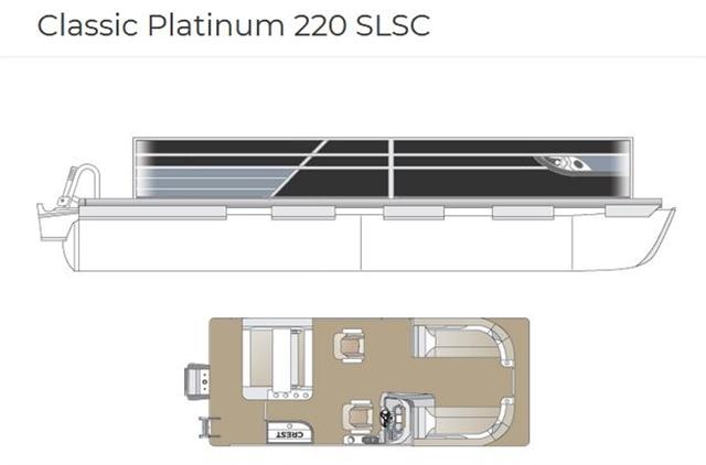 2021 Crest Classic Platinum 220 SLSC at Fort Fremont Marine