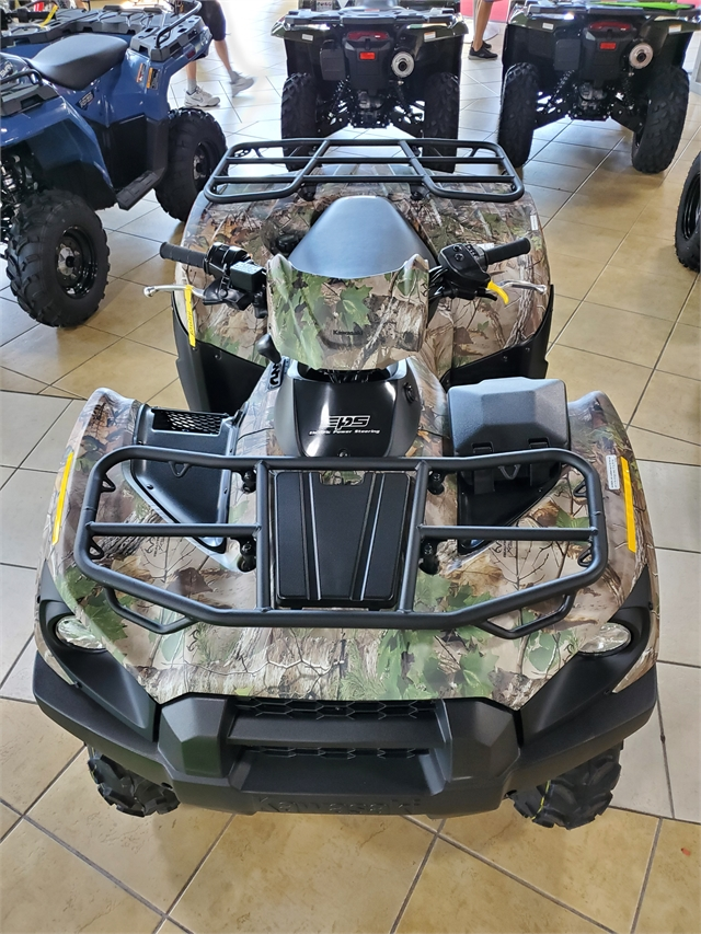 2022 Kawasaki Brute Force 750 4x4i EPS Camo at Sun Sports Cycle & Watercraft, Inc.