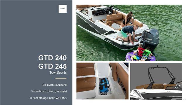 2022 Glastron GTD240 at Baywood Marina