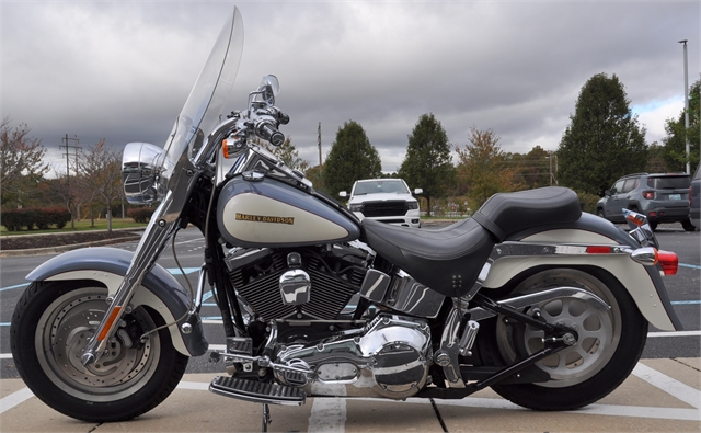 2002 HARLEY-DAVIDSON FLSTFI at All American Harley-Davidson, Hughesville, MD 20637