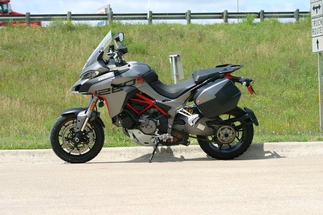 2020 Ducati Multistrada 1260 S Grand Tour at Eurosport Cycle