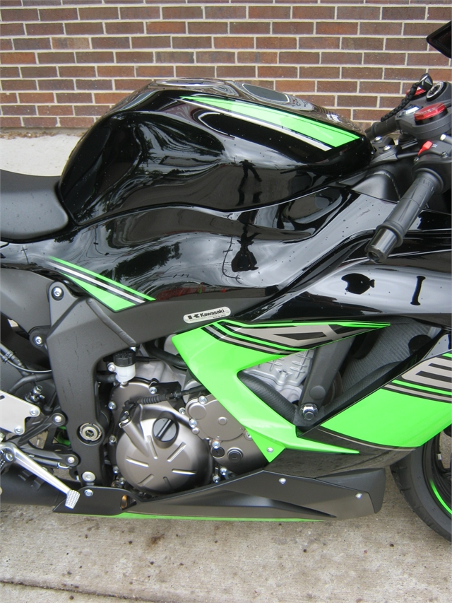 2017 Kawasaki Ninja ZX-6R Base at Brenny's Motorcycle Clinic, Bettendorf, IA 52722