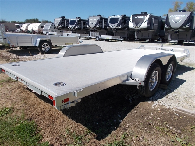 2019 Aluma 8218 Tandem Axle Car Hauler Nishna Valley Cycle