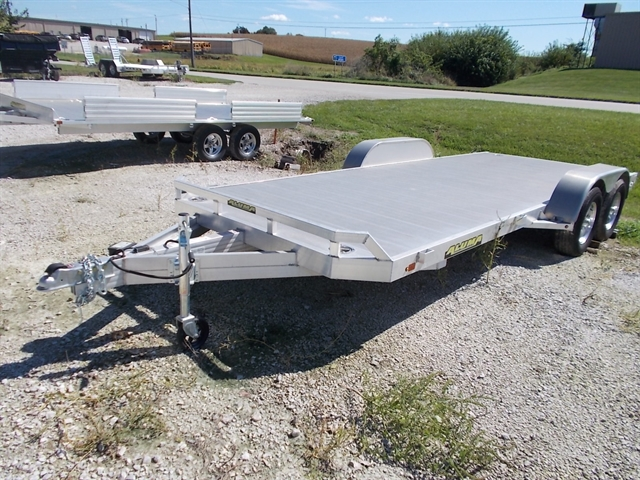 2019 Aluma 8218 Tandem Axle Car Hauler at Nishna Valley Cycle, Atlantic, IA 50022