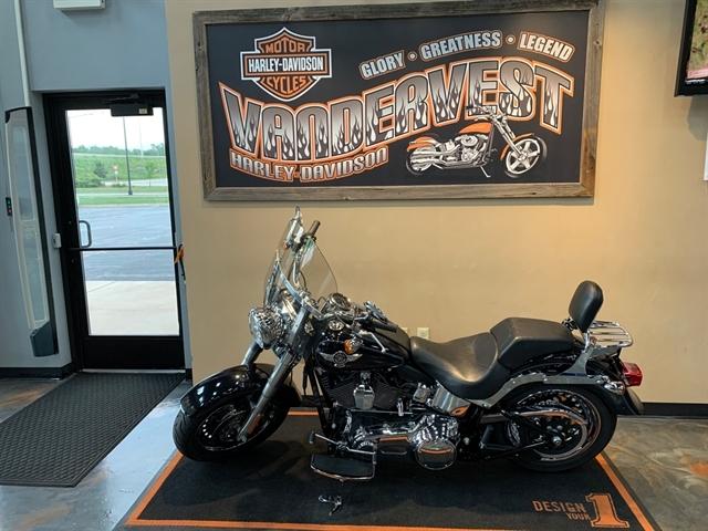 2013 Harley-Davidson Softail Fat Boy at Vandervest Harley-Davidson, Green Bay, WI 54303