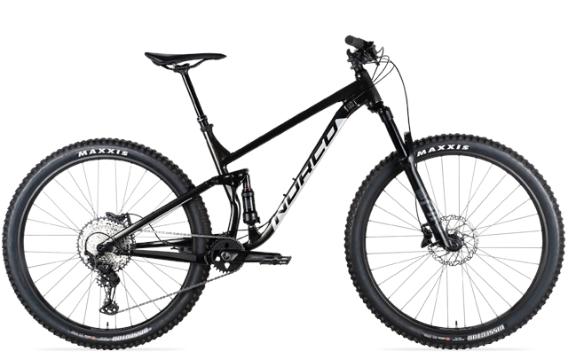2021 Norco Fluid Fluid FS1 Large 29er Black-Silver at Full Circle Cyclery
