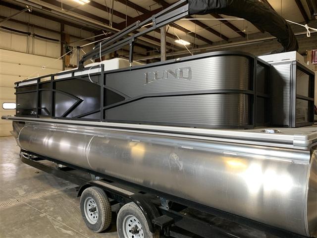 2019 Lund LX220 FISH N CRUISE PONTOON at Pharo Marine, Waunakee, WI 53597