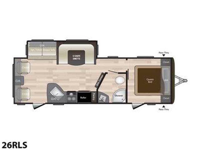 2019 Keystone RV Hideout 26RLS at Campers RV Center, Shreveport, LA 71129
