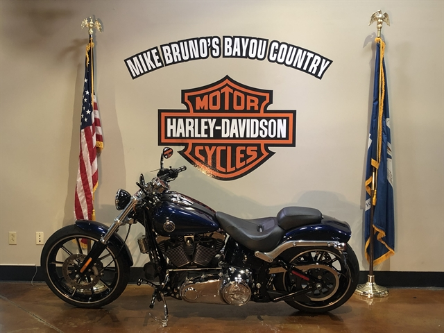 2013 Harley-Davidson Softail Breakout at Mike Bruno's Bayou Country Harley-Davidson