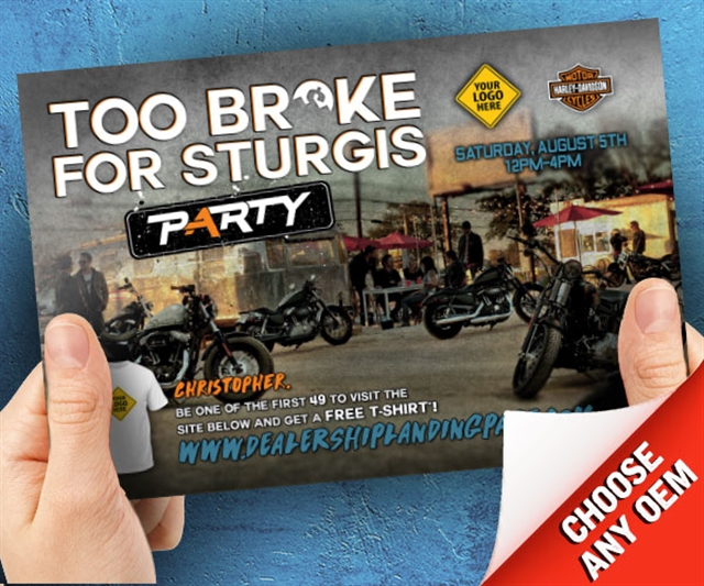 2018 Summer Too Broke for Stugis Powersports at PSM Marketing - Peachtree City, GA 30269