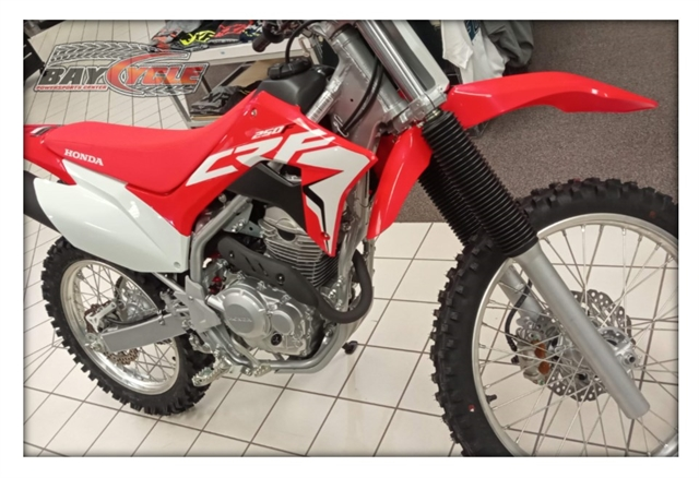 2021 Honda CRF250F 250F at Bay Cycle Sales