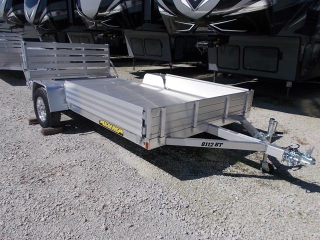 2020 Aluma 8112 BT Single Heavy Axle Utility Trailers at Nishna Valley Cycle, Atlantic, IA 50022