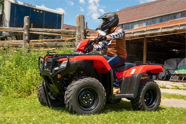 2021 Honda FourTrax Foreman Rubicon 4x4 EPS at Wild West Motoplex