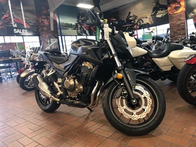 2021 Honda CB500F ABS at Wild West Motoplex