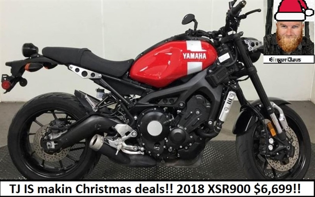 2018 Yamaha XSR 900 at Southwest Cycle, Cape Coral, FL 33909