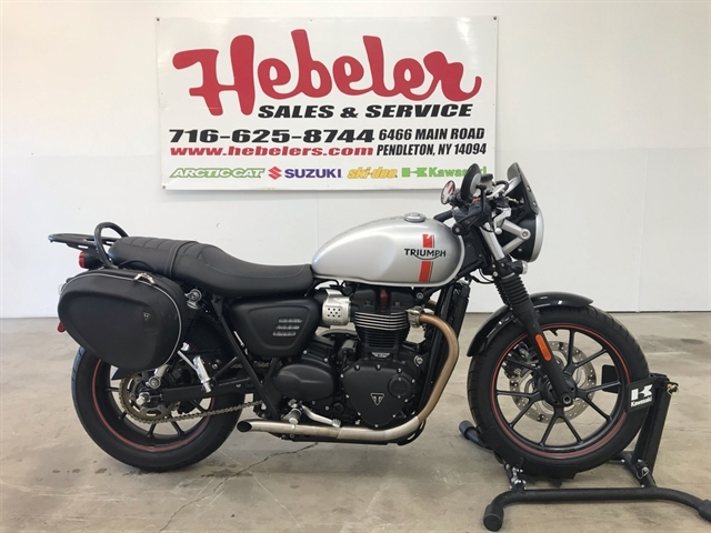 2016 Triumph Street Twin ABS at Hebeler Sales & Service, Lockport, NY 14094