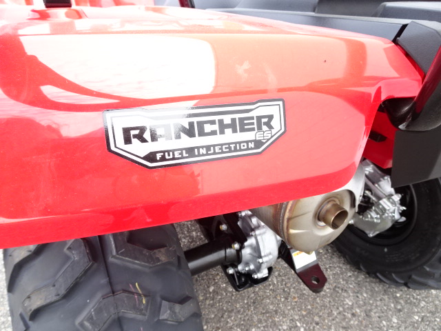 2018 Honda FourTrax Rancher® 4X4 ES at Genthe Honda Powersports, Southgate, MI 48195