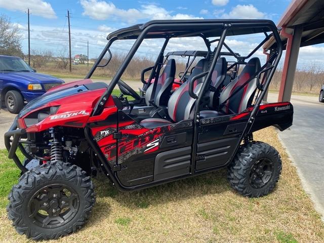 2021 Kawasaki Teryx4 S LE at Dale's Fun Center, Victoria, TX 77904