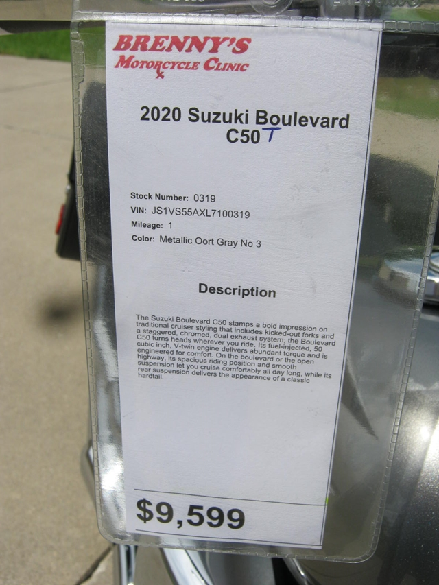 2020 Suzuki Boulevard C50 at Brenny's Motorcycle Clinic, Bettendorf, IA 52722