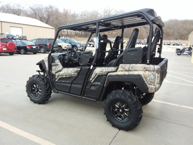 2018 Yamaha Wolverine X4 Realtree Xtra & Aluminum Wheels at Brenny's Motorcycle Clinic, Bettendorf, IA 52722